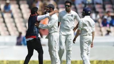 Security breach in West Indies Vs India Test Match