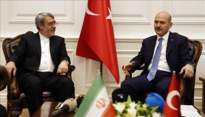 Turkey's interior minister meets Iranian counterpart
