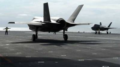 US military temporarily grounds entire fleet of F-35 fighter jets