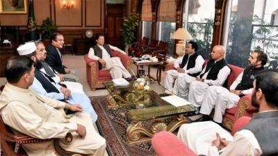 A delegation of senators calls on PM