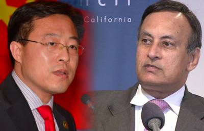 Disgruntled Hussian Haqqani gets a snub from top Chinese envoy over false propaganda against Pakistan China
