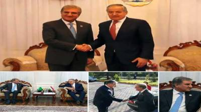 FM Qureshi, Tajik FM discuss matters of mutual interest