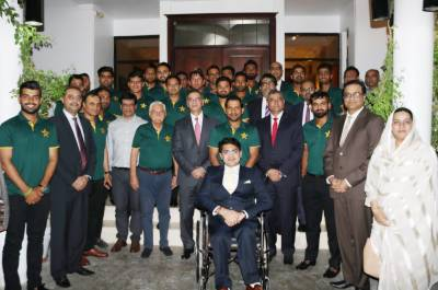 Pakistan Cricket team honoured with dinner reception at UAE embassy