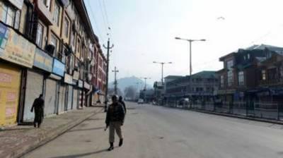 Shutdown in Occupied Kashmir against sham local bodies' polls