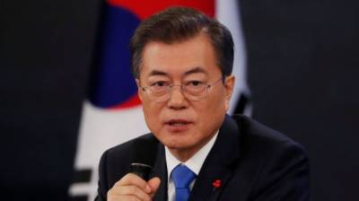 South Korea's Moon optimistic about end to Korean War
