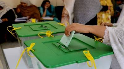 Polling for by-elections on 35 National, Provincial Assemblies seats underway