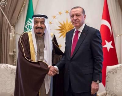 Saudi King Salman thanks Turkish President Tayyip Erdogan