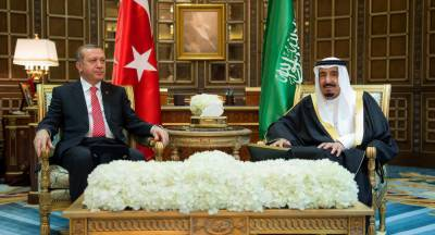 Saudi King thanks Turkish President for accepting joint investigation team to probe disappearance of Khashoggi