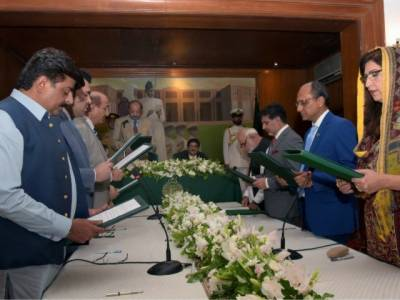 Sindh cabinet expansion: Five Ministers and Two Advisors inducted