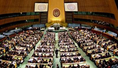United States ridiculed at the top UN body