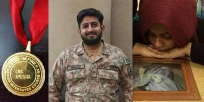 Wife of martyred Pakistan Army officer joins Military, wins title of best shooter