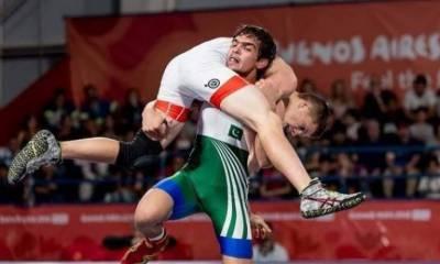 Youth Olympics 2018: Pakistani wrestler makes historic achievement