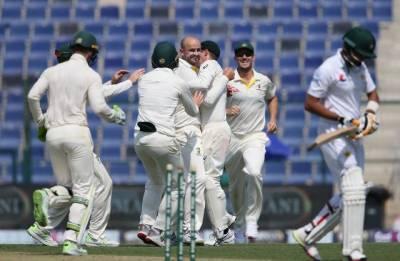 Australia's Nathan Lyon plays havoc against Pakistan in Abu Dhabi Test