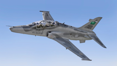 Saudi trainer jet crashes, killing crew