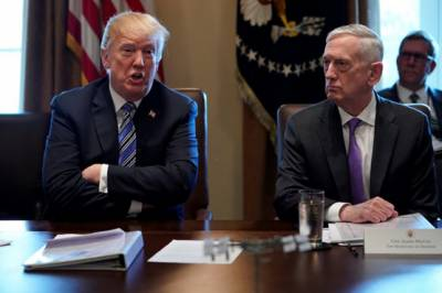 US defence secretary Jim Mattis responds to reports of Trump hints about his fate