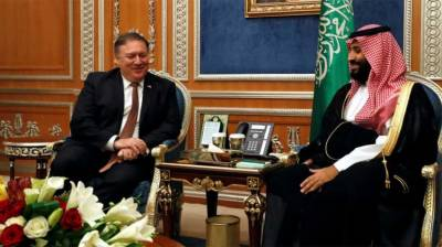 US Secretary of state Mike Pompeo holds important meeting with Saudi Crown Prince