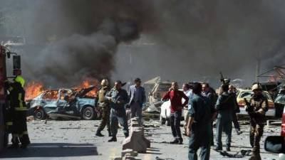 Afghanistan: Multiple explosions at polling centers cause two dozen casualties