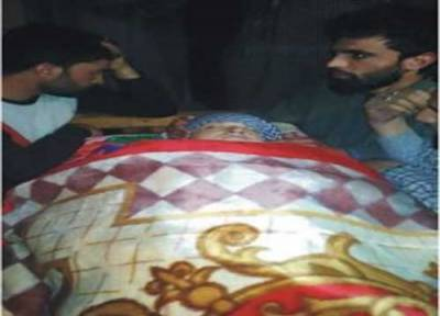 Indian troops martyr woman in Pulwama district, IOK