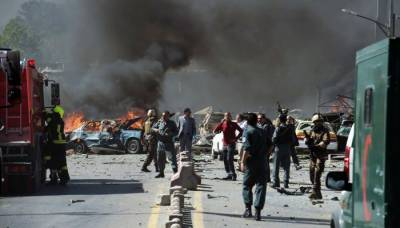 Multiple explosions rock Kabul causing dozens of casualties