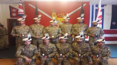 Pak Army team wins gold medal in Cambrian Patrol competition