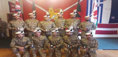 Pakistan Army team tops among 134 teams from 31 countries