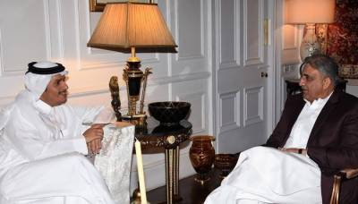 Qatari Foreign Minister holds important meeting with COAS General Bajwa