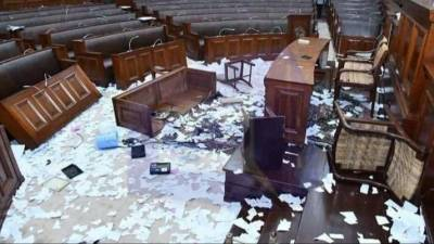Speaker imposes ban on 6 members of Punjab Assembly