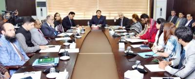 Fawad urges information officers to promote positive image of Pakistan