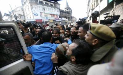 Several Hurriyat leaders arrested in occupied Kashmir
