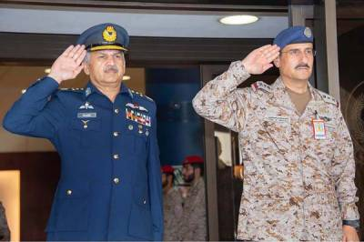 PAF - Royal Saudi Air Force decide to enhance strategic ties