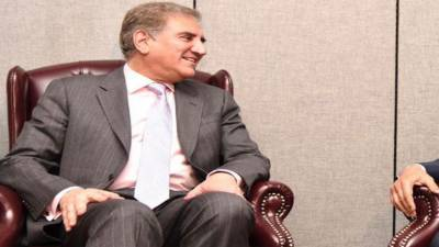 FM, EU Chief Election observer discuss matters of mutual interest