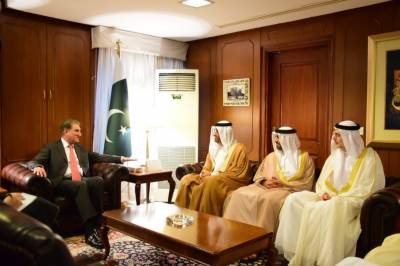 High level UAE delegation arrives in Pakistan on an important visit