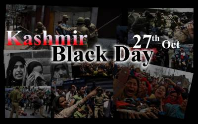 Kashmiris across the World to observe Black Day against Indian occupation on October 27, 1947