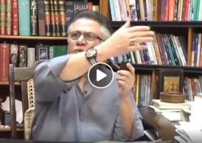 (VIDEO): Hasan Nisar video using dirty language against female journalist surfaces on social media