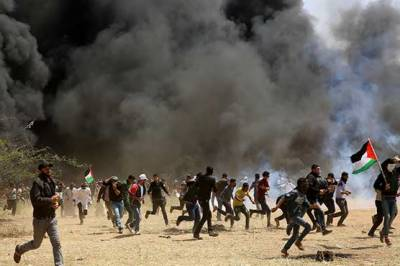 Israeli military martyrs five Palestinians during fresh clashes in Gaza