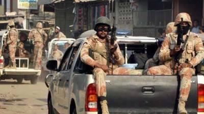Rangers arrest eight accused in Karachi