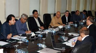 Asad Umar chairs meeting