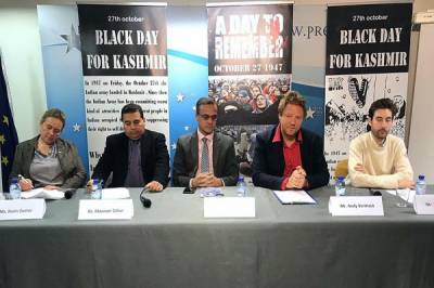 Members of EU, Belgium Parliament and community leaders call for int'l probe into occupied Kashmir rights violations
