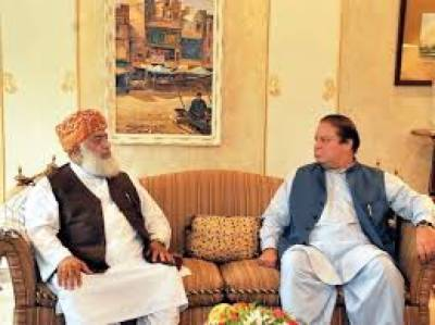 Nawaz Sharif rejects Fazal ur Rehman proposal, leaving MMA Chief red faced