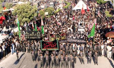 Chehlum of Hazrat Imam Hussain (RA) and his companions being observed today