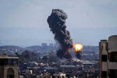 Israeli military jets strike Palestinians in Gaza