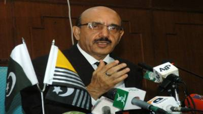 Masood seeks mounting pressure of UK on India for resolution of Kashmir dispute