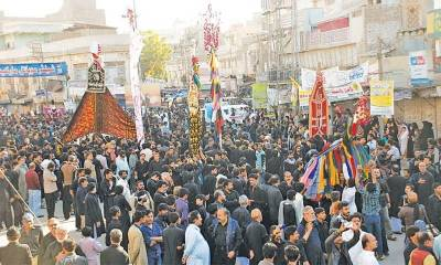 Tight security to be provided on Chehlum of Hazrat Imam Hussain (RA)
