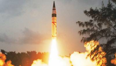 India test fires nuclear capable strategic missile