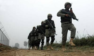 Indian troops resort to heavy shelling at LoC