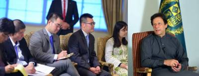 PM Imran Khan talked to Chinese Media in Islamabad ahead of leaving for a crucial tour