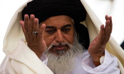 TLP Chief Khadim Hussain Rizvi tweets over countrywide protests