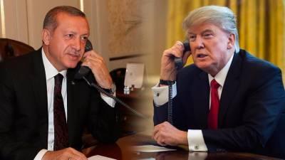 Erdogan, Trump discuss bilateral, regional issues