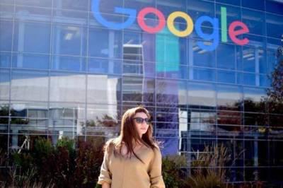 Pakistani actress Mahira Khan visits Google, Facebook Headquarters