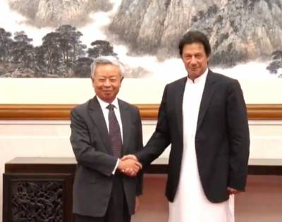PM Imran Khan makes an offer to President of AIIB